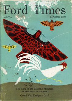 Words & Eggs - Blog - Charley Harper's Ford Timescovers