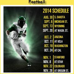 another football schedule