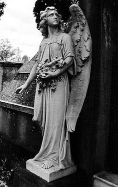 Cemetery Photography - Angel Looking Up Cemetery Angels, Cemetery Statues, Cemetery Art, Angel Statues, Angel Sculpture, Angel Prayers, I Believe In Angels, Garden Angels, Angels Among Us