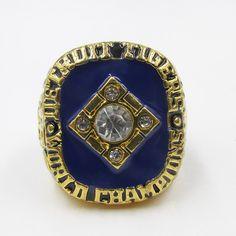 Wholesale High Quality 1984 DETROIT TIGERS MLB world series Championship ring Baseball solid Sport ring | Herta Store