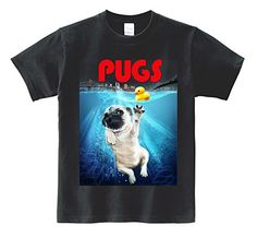 Unisex Short Sleeve Cotton T Shirt S-XXXL - Pugs in New York Manhattan Jaws Parody Black XX- Large Printstar http://www.amazon.com/dp/B00Z4HAHS4/ref=cm_sw_r_pi_dp_L-0rwb155TCY0