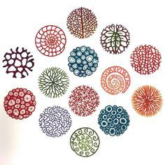 Water Soluble Fabric, A Level Textiles, A Level Art, Textile Artists, Circle Design, Tile Patterns, Embroidery Art, String Art, Fabric Art
