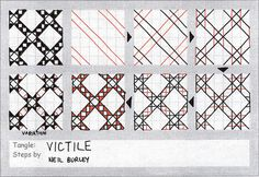 Victile - tangle pattern by perfectly4med, via Flickr