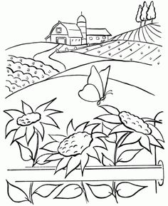 Farm Coloring Pages Spectacular