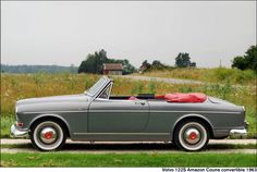 Volvo122S Amazon Coune Convertible1963 http://www.coachbuild.com/gallery/d/25350-2/Coune_Volvo_122S_Amazon_Convertible_1963_01.jpg