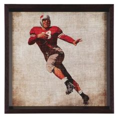 Vintage Football 4 from Z Gallerie