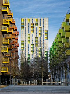 """Urban Revitalization """"Barking Central"""", near London, designed by Allford Hall Monaghan Morris Architects"""