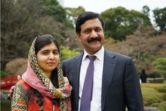What Being Malala's Father Taught Me About Feminism - Ziauddin Yousafazi with his daughter Malala City Of Birmingham, Six Girl, Right To Education, Malala Yousafzai, Suffragette, I Miss Her, Patriarchy, Famous Women, Famous People
