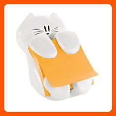 Post-it Cat Figure Pop-up Note Dispenser, 3 inch x 3 inch, (CAT-330), Colors May Vary - Little daily helpers (*Amazon Partner-Link)