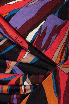 Emilio Pucci - Printed Stretch-jersey Dress - Black - IT44