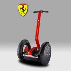 Un Segway Ferrari ça vous tente ;) ??