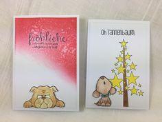 Und heute gibt es von mir noch den ganzen Haufen restlicher Weihnachtskarten die so entstanden sind. Es sind wirklich viele und wenn ich di...