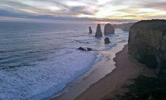 The 12 Apostles - the great ocean road.  #seeaustralia #australia #victoria #12apostles #oceanside #ocean #seabreeze #greatoceanroad #sunset #naturalbeauty #beautiful #nofilter #naturalwonder #wanderlust #the_wondrouslife by the_wondrouslife http://ift.tt/1ijk11S