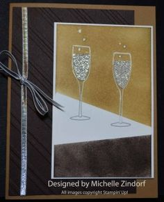 Let's Celebrate – Stampin' Up! Card created by Michelle Zindorf
