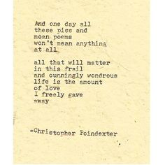 The Blooming of Madness poem #167 written by Christopher Poindexter
