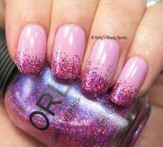 Orly As Seen on TV from the LaLa Land Collection with Orly Explosion of Fun on the tips.