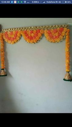 17 Ideas baby names flower wall art Diwali Decorations At Home, Home Wedding Decorations, Stage Decorations, Festival Decorations, Handmade Decorations, Flower Decorations, Diwali Craft, Diwali Diy, Diwali Party