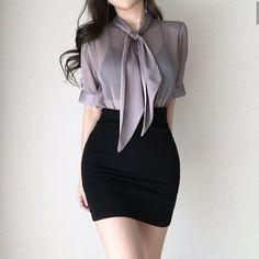 Korean Fashion Dress, Ulzzang Fashion, Kpop Fashion Outfits, Girls Fashion Clothes, Edgy Outfits, Korean Outfits, Cute Casual Outfits, Pretty Outfits, Kawaii Fashion