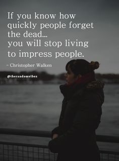 Stop thinking of the people around you and start living for yourself because people quickly forget the dead. So stop living to impress people. #Inspirationallifequotes #Lifequotes #Deepquotes #Patiencequotes #Relatablequotes #Jayshettyquotes #Emotionalquotes #Wisdomquotes #Goodquotes #Serenityquotes #Refreshingquotes #Positiveenergy #Inspirationalmorningquotes #Inspirationalquotes #Dailyquotes #Everydayquotes #Instaquotes #Instastories #Quoteoftheday #Quotes #Quotesandsayings #therandomvibez Everyday Quotes, Real Life Quotes, True Quotes, Daily Quotes, Inspirational Quotes For Women, Inspiring Quotes About Life, Serenity Quotes, Fearless Quotes, Patience Quotes