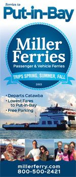The western basin of the Lake Erie is home to about 26 islands. Only a few are home to year round dwellers - including the resort destinations Put-in-Bay (South Bass Island) and Middle Bass Island, Ohio #islands #Ferries