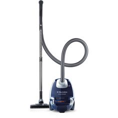 Electrolux EL4103A Ergospace Bagged Canister Vacuum (935 BRL) ❤ liked on Polyvore featuring home, home improvement, cleaning and blue