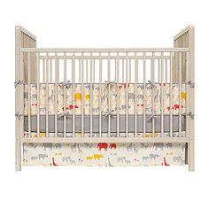 Animali Cardamom crib set $395