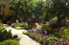Bunny Guinness Chelsea Flower Show 2011 modern ornamental vegetable garden potager | ... the M&G Garden.