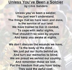 A Soldiers Poem  Gives Me Goosebumps   Soldiers  Army Brats