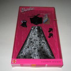 NOS Fashion Avenue Barbie NRFB Broadway Premiere 2001 Barbie Outfit | eBay