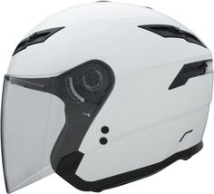 GMAX GM67 OPEN FACE HELMET PEARL WHITE 2X