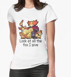 Look at all the fox I give - Pokemon by TheMDesign