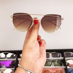 Oculos Australia Flat Marrom