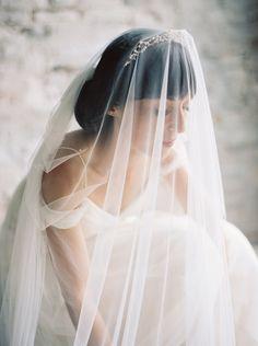romantic bridal inspiration | ariel dearie wedding | image via: vogue