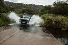 South Africa Land Rover water splash in Baviaanskloof (baboons valley) Eastern Cape Baboon, Travel Info, South Africa, Cape, 4x4, Nature, Dating, Places, Mantle