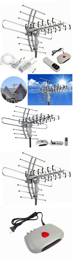 Antennas and Dishes: Hdtv 1080P Outdoor Amplified Antenna 360° Rotor Digital Hdtv Uhfvhf Fm 150 Miles -> BUY IT NOW ONLY: $32.99 on eBay!