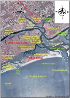 History of Waties Island and the Little River area,   Horry County, South Carolina
