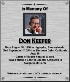 Don Keefer Star Trek Actors, Star Trek Characters, Star Trek Original Series, Star Trek Series, Fiction Movies, Science Fiction, Star Trek Crew, Star Trek Poster, Star Trek 1966