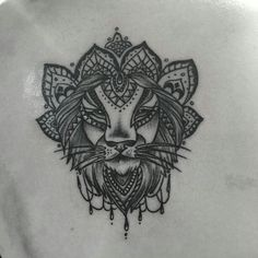 Lion mandala tattoo :)