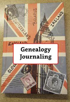Genealogy Journaling