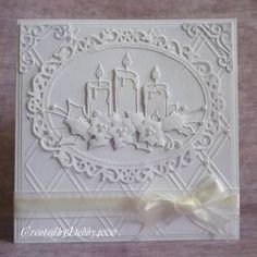 Afbeeldingsresultaat voor Tattered Lace Doily Cupcake Circle Die card images