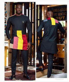African men's clothing / African fashion/ wedding suit/dashiki / African men's shirt/ vêtement africain/ chemise et pantalon/ Ankara styles. African Male Suits, African Shirts, African Men Fashion, African Wear, African Clothes, Ankara Fashion, African Attire, African Style, African Women