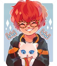 7, app, and mystic messenger 이미지