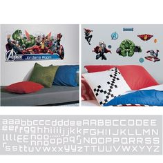 Avengers Assemble Decal Room Package #2 - Wall Sticker Outlet