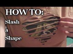 T-Shirt Recon: Slashing a Shape