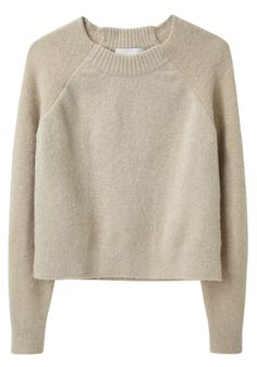 Raglan Pullover, by Phillip Lim: Knitwear Fashion, Knit Fashion, Long Sweaters, Pullover Sweaters, Raglan Shirts, Crop Shirt, Sweater Weather, Refashion, Fall Outfits