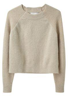 Raglan Pullover, by Phillip Lim: Knitwear Fashion, Knit Fashion, Raglan Shirts, Long Sweaters, Crewneck Sweaters, Crop Shirt, Sweater Weather, Refashion, Fall Outfits