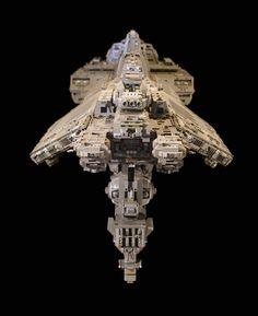 Lego UNSC Spirit of Fire