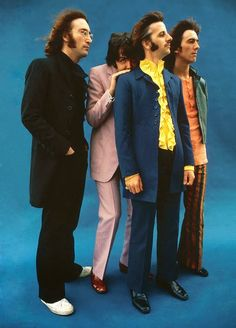 The Beatles in the 70's....the way I remember them......Watched the 50th anniversary show tonight with Paul & Ringo together for the first time in ages......It was EXCELLENT!!!!!!!! FEB 12/14