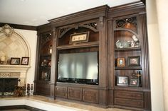 Custom+Built+Entertainment+Centers | Entertainment Centers and Media Built ins, Project Management, Design ...