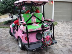 #LillyHoliday Lilly Golf Cart